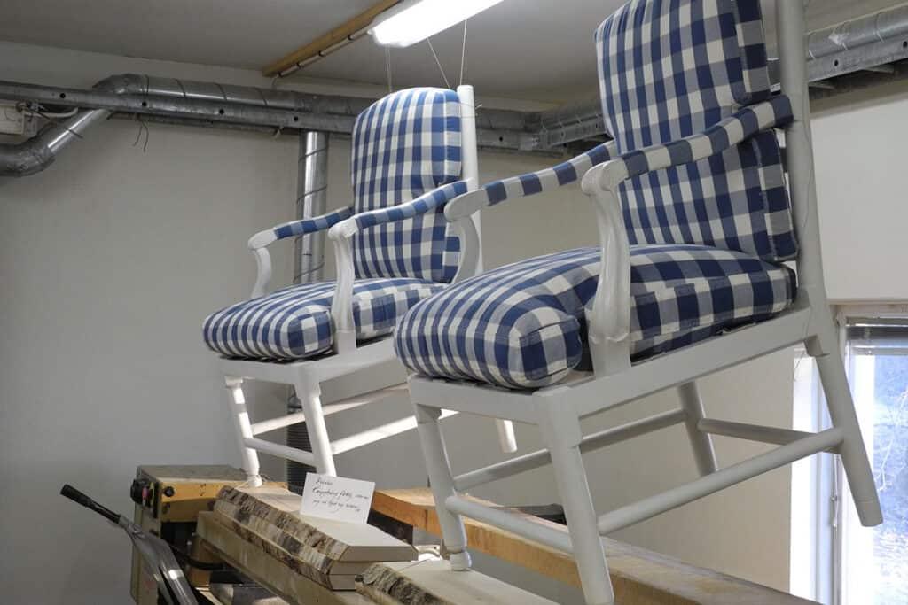 Klassiska möbler fåtölj