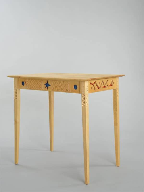 Samiskt hantverk bord Skreejehtimme