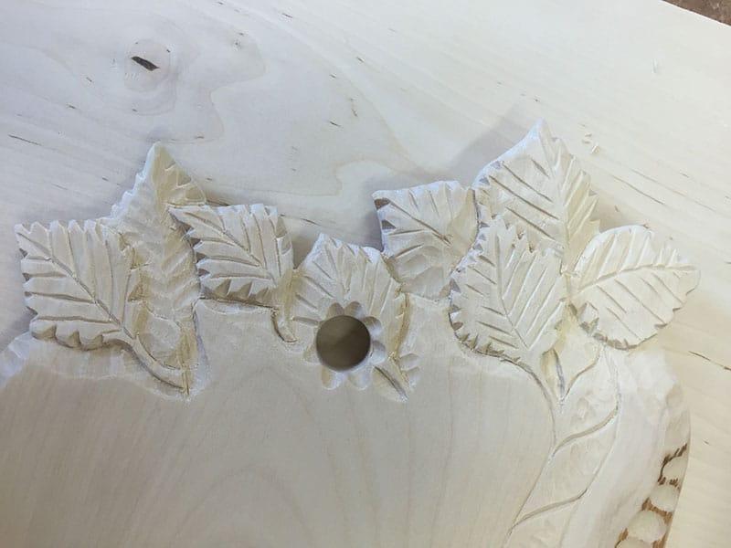 Samiskt hantverk skärbräda